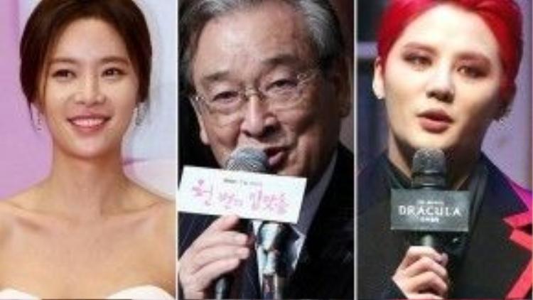 Đám cưới của Hwang Jung Eum có 2 khách mời đặc biệt là nghệ sĩ gạo cội Lee Soon Jae và ca sĩ Junsu.
