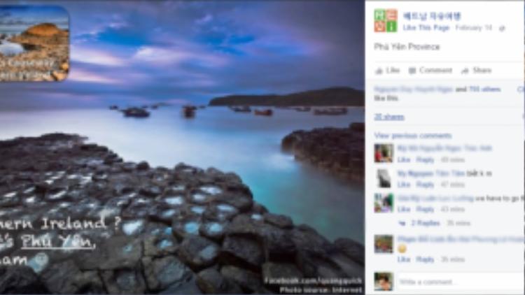 … hay Ghềnh Đá Dĩa (Phú Yên) thậm chí còn đẹp hơn cả bãi đá Giant's Causeway (Bắc Ireland)!