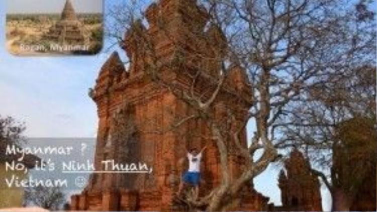 Myanmar? Không, Ninh Thuận đấy.
