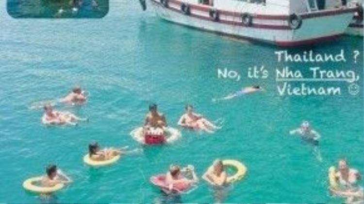 Giống Thái Lan quá đi? Không, Nha Trang của Việt Nam đó!