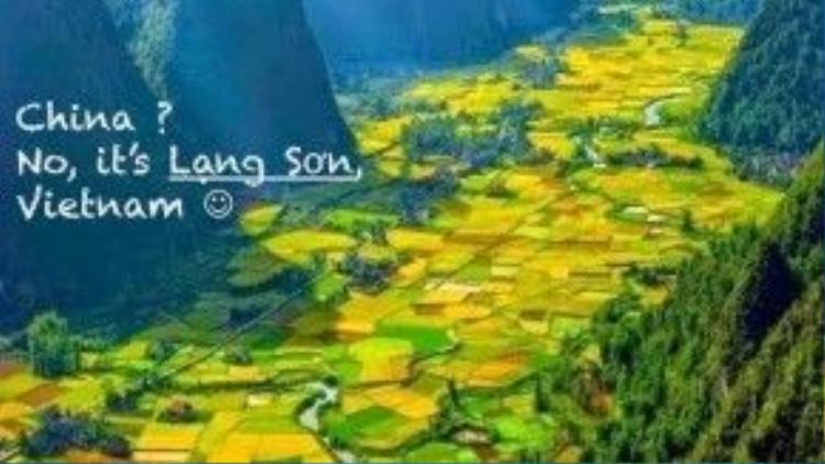 Trung Quốc? Không, đây là Lạng Sơn, Việt Nam.