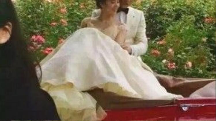 Ảnh cưới ở New Zealand của hai vợ chồng nổi tiếng.