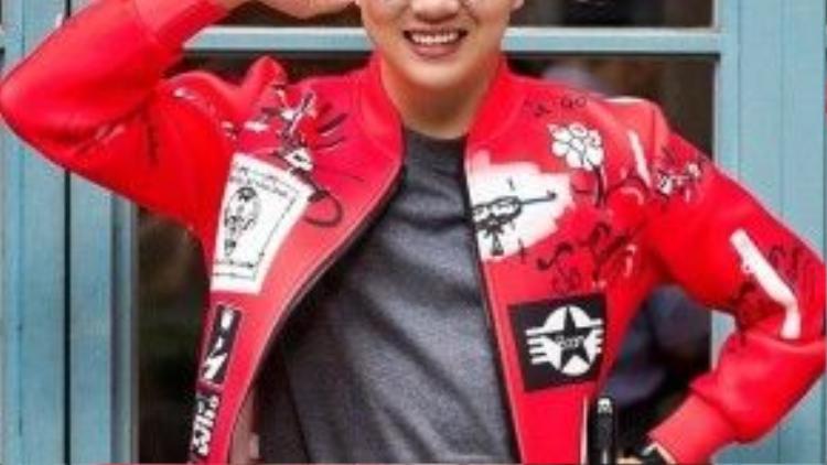 Hot boy - diễn viên Duy Khánh Zhou Zhou. Ảnh: Chu Dũng