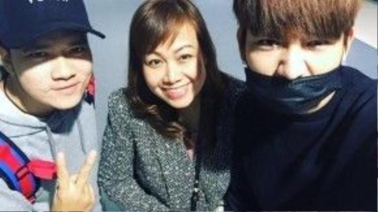 Kelvin Khánh đăng ảnh sang Hàn