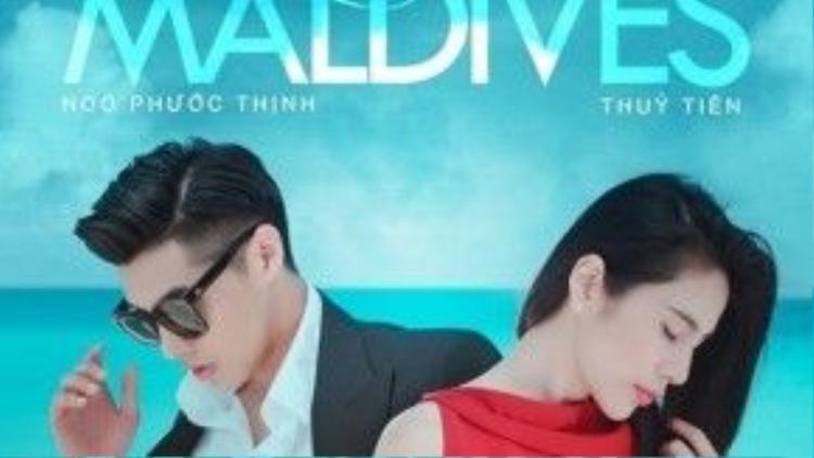Poster của phim Chuyện tình ở Maldives.