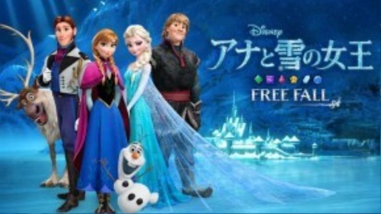Frozen chỉ được chiếu khi mùa đông sắp kết thúc.