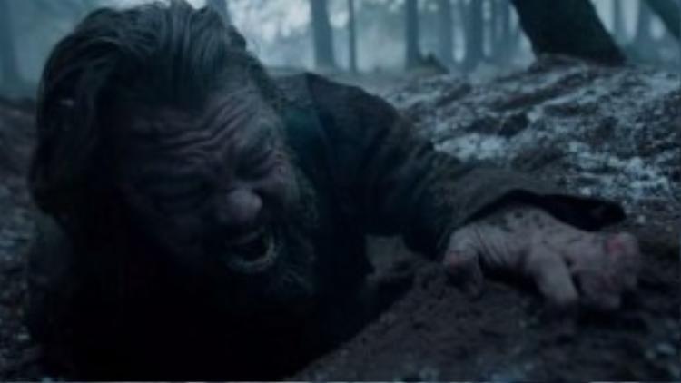 Hugh Glass là vai diễn khổ ải nhất của Leo