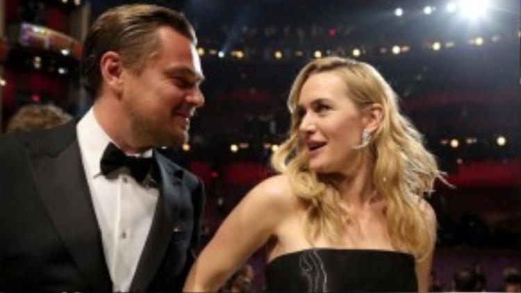 Tình bạn đẹp của Leonardo DiCaprio và Kate Winslet khiến nhiều người ngưỡng mộ