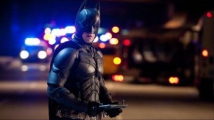 Christian Bale và hoá thân trong 'The Dark Knight Rises'.