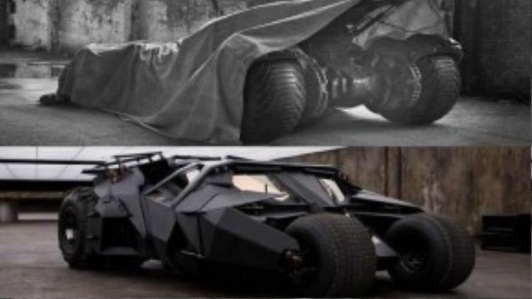 Batmobile - 'trợ thủ' được hâm mộ nhất của Batman.