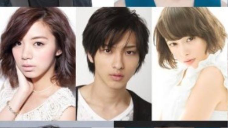 Phim còn có sự tham gia của: Suzuki Nobuyuki, Kadowaki Mugi, Ikeda Elaiza, Yokohama Ryusei, Tamashiro Tina, Yoshizawa Ryo và Nanao