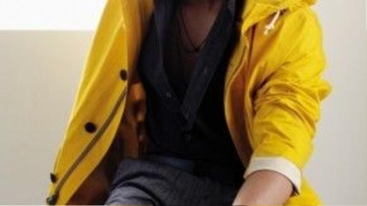 Sở hữu chiều cao 1m84 James Jirayu rất thành công với vai trò người mẫu.