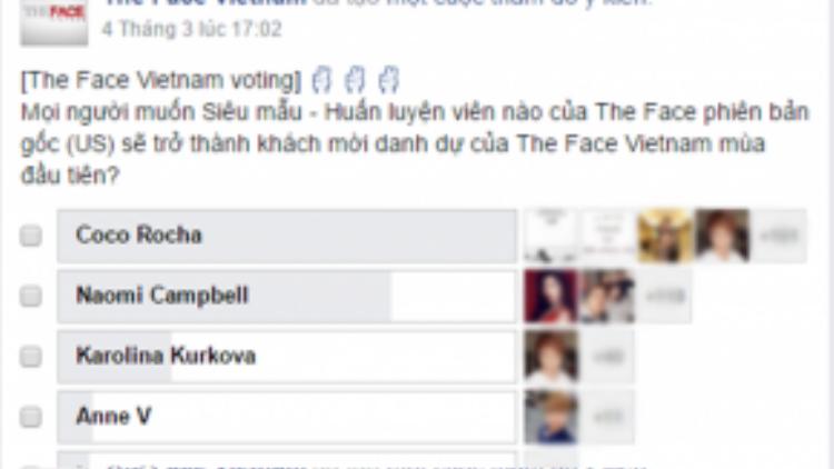 Coco Rocha đang được khán giả kỳ vọng sẽ xuất hiện tại The Face Việt Nam.