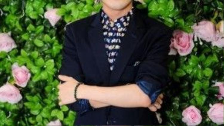 Huỳnh Lập là quán quân 'Cười xuyên Việt phiên bản nghệ sĩ' cũng góp mặt trong chương trình.