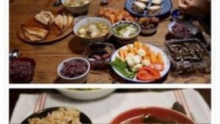 Hình ảnh ít oi mà Lee Hyori đăng lên mạng xã hội.
