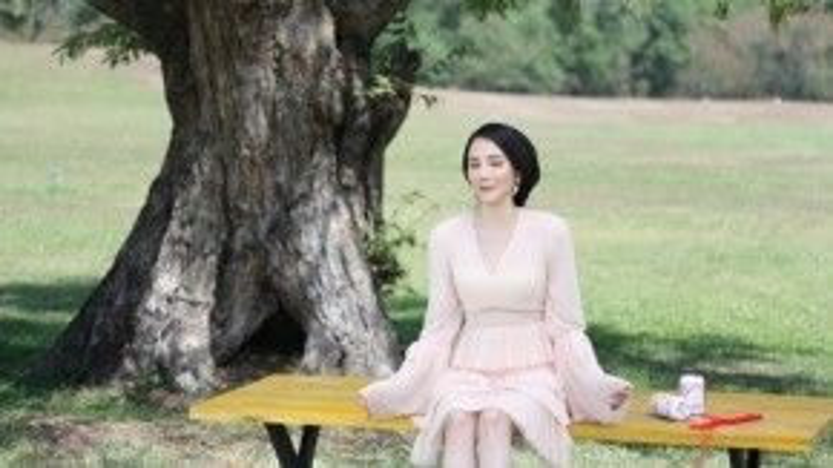 Hồ Quỳnh Hương lung linh với hình ảnh lãng mạn trong MV.
