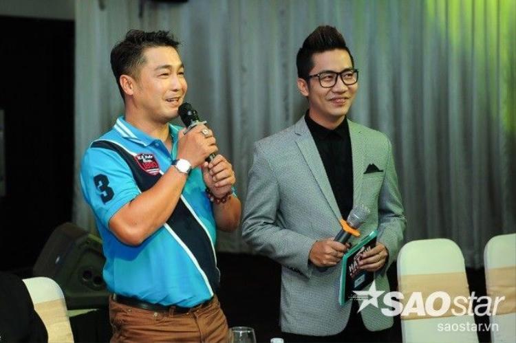 Phương Thanh thân mật cùng Ngọc Sơn làm giám khảo cuộc thi Karaoke