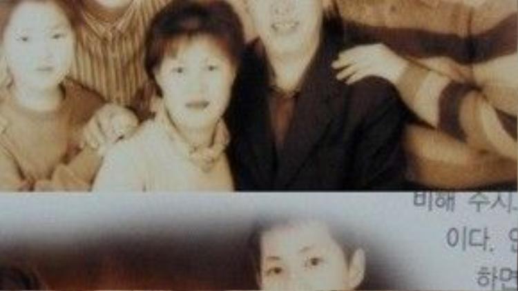 Gia đình Song Joong Ki.