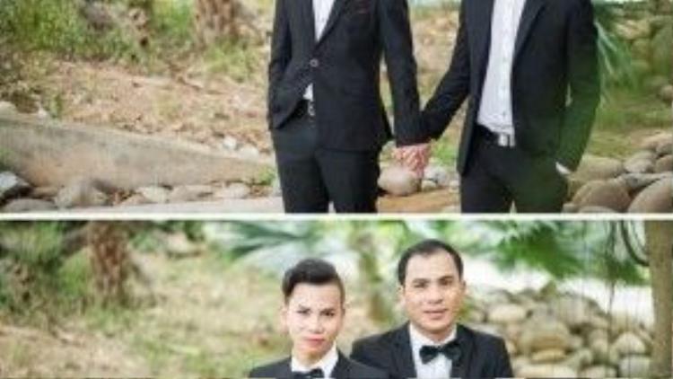 """Chính """"cô dâu"""" Lê Minh là người khiến anh Xuân Tuyên tự tin vào bản thân và tình cảm thật của mình."""
