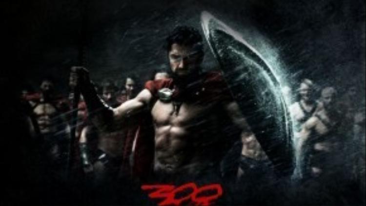 '300' - Bức tranh đẫm máu nhưng đầy chất anh hùng của những chiến binh thực sự.