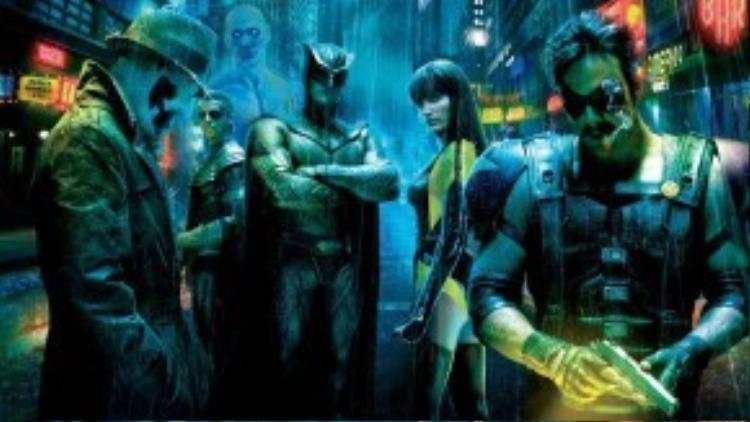 Siêu phẩm 'người lớn' Watchmen.
