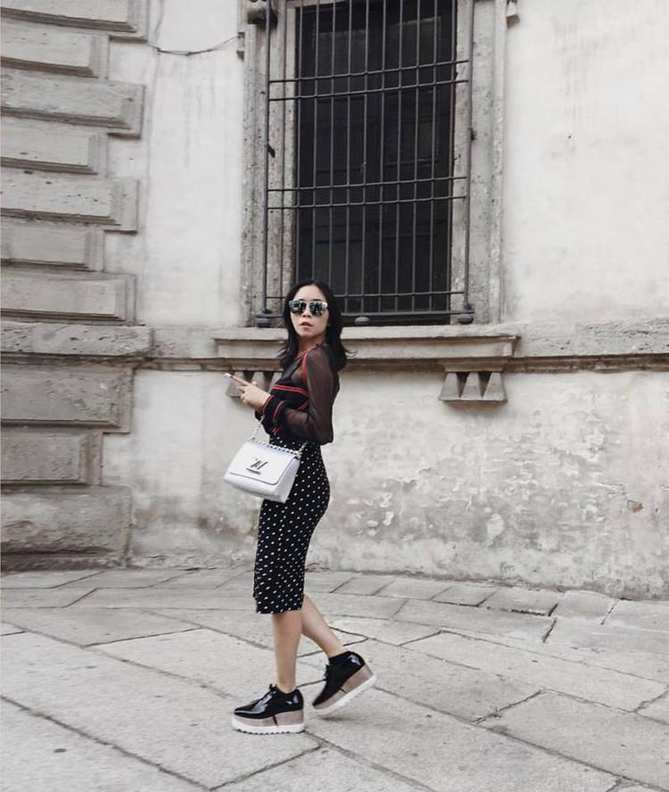 Fashionista Việt kiêu hãnh ngồi ngang hàng với Phạm Băng Băng, Selena Gomez