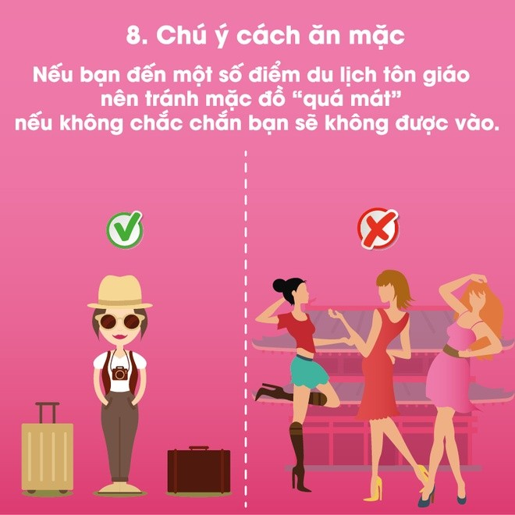 Là người Việt văn minh, hãy ghi nhớ 10 điều này khi đi du lịch