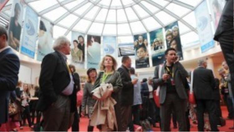 MIPTV - Hội chợ cực lớn dành cho các công ty sản xuất và đối tác truyền hình