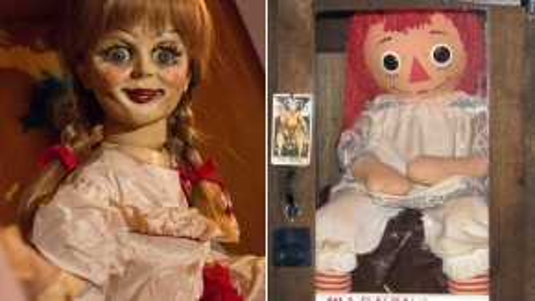 """Annabelle xuất hiện trong tuyến chuyện phụ của """"The Conjuring"""", sau đó trở thành nhân vật chính trong tác phẩm cùng tên."""