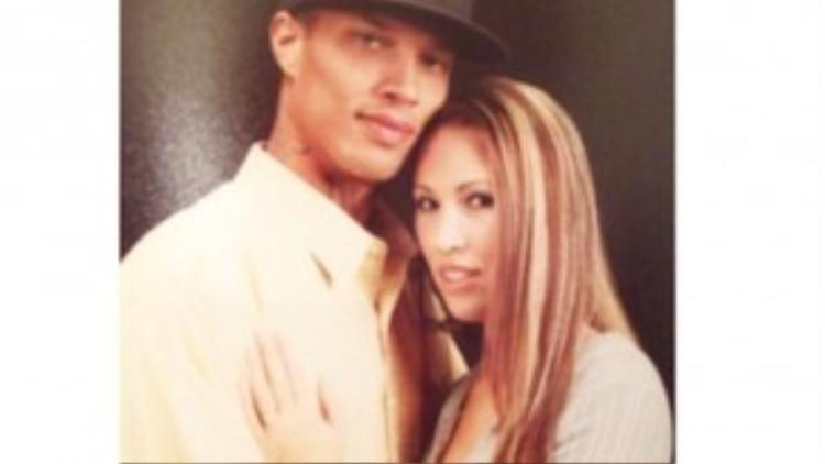 Meeks và vợ trước khi anh vào tù.