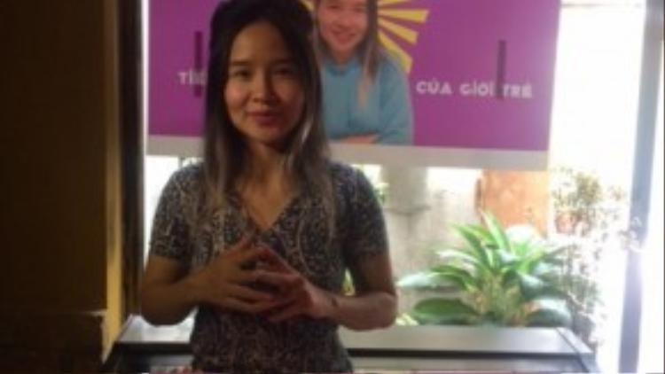 Mai Khôi chia sẻ, cô muốn đại diện tiếng nói của giới trẻ tại Quốc hội.