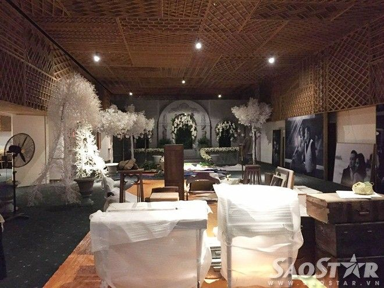 Xem trước không gian tiệc cưới như vườn địa đàng của Victor Vũ  Đinh Ngọc Diệp