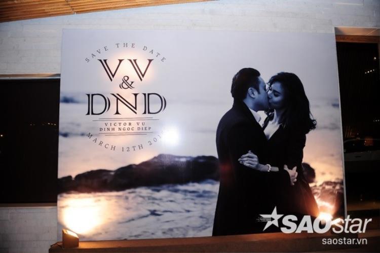 Những hình ảnh đầu tiên trong đám cưới cổ tích của Victor Vũ  Đinh Ngọc Diệp