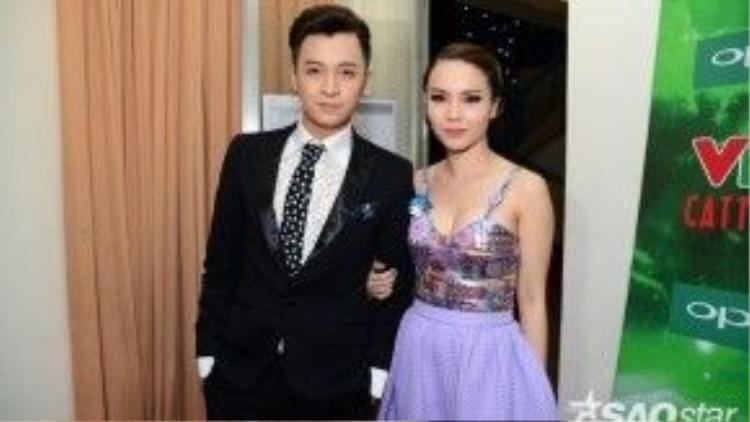 Ngô Kiến Huy và MC Yến Trang