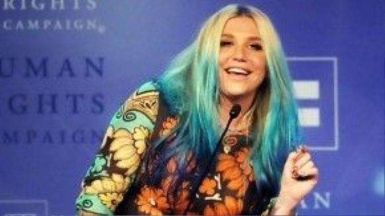 Kesha tại buổi lễ trao giải.
