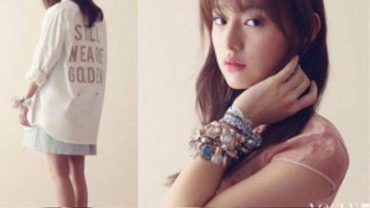 Trước Hậu duệ mặt trời, Kim Ji Won từng để lại dấu ấn khi tham gia hai bộ phim gây chú ý khác là To the beautiful you (2012) và The heirs (2013).
