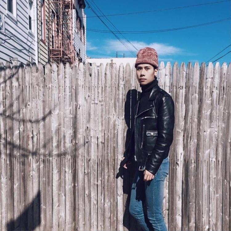 Ngây ngất với street style của chàng mẫu người Mỹ gốc Việt