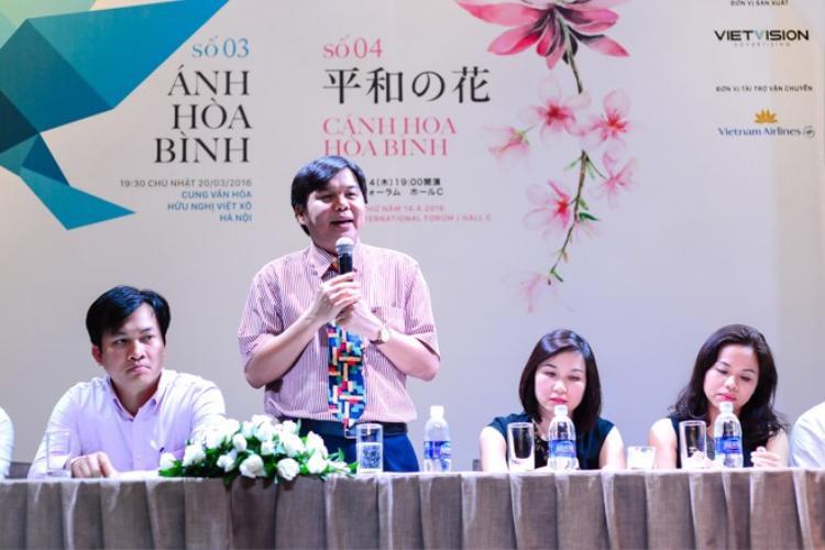 Hà Anh Tuấn  Phương Linh cùng nắm tay mang Câu chuyện hòa bình tới Nhật Bản