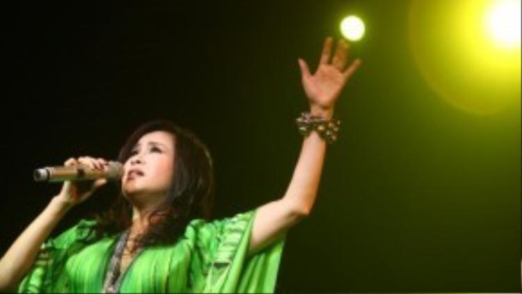 """Thanh Lam - một trong những """"nàng thơ"""" của nhạc sĩ Thanh Tùng."""