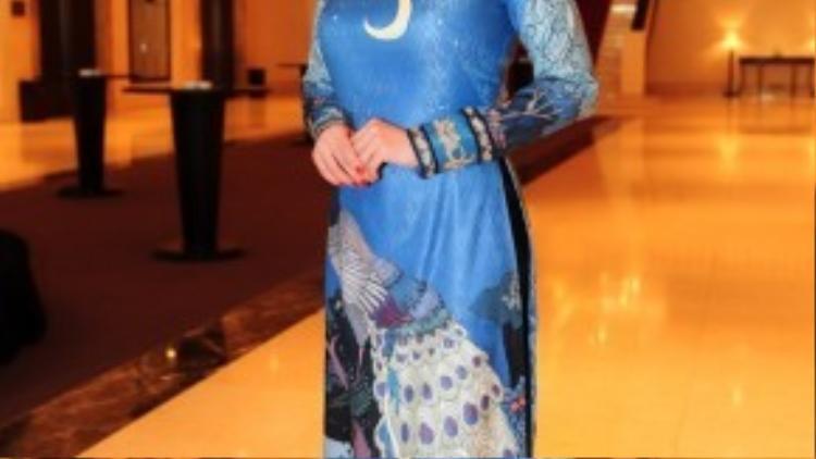 Hoa hậu Hà Kiều Anh.