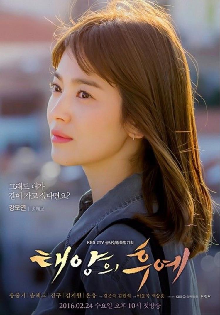 Đứng tim nghe giọng hát hay như ca sĩ của Song Joong Ki cùng dàn sao Hậu duệ mặt trời