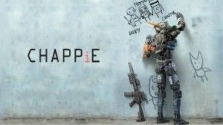 """""""Chappie"""", một bộ phim dễ thương và mới mẻ cũng thuộc dòng phim dystopia."""
