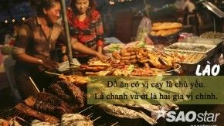 """Khác với vị dung hòacủa người Việt, người Lào lại thích ăn cay và nóng giống người Thái. Thế nhưng, với khí hậu nóng nực, bạn nên uống chút nước lọc hoặc Beerlao để """"hạ hỏa""""."""