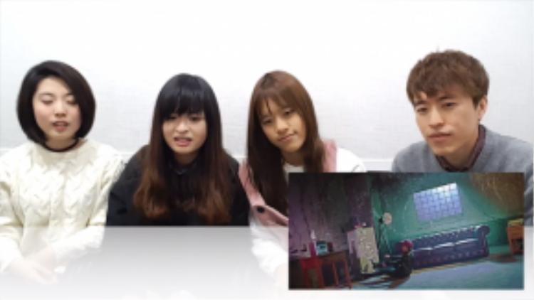 Các bạn trẻ người Hàn cùng xem và bình luận MV nhạc Việt