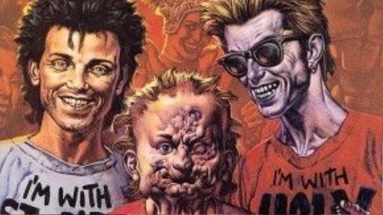 Preacher nằm trong top truyện tranh hay nhất mọi thời đại.