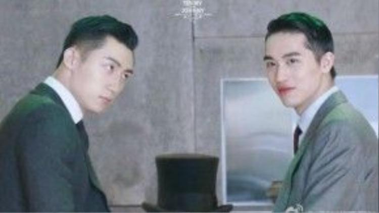 Hoàng Cảnh Du và Hứa Ngụy Châu luôn có những ánh nhìn thân thiết dành cho nhau.