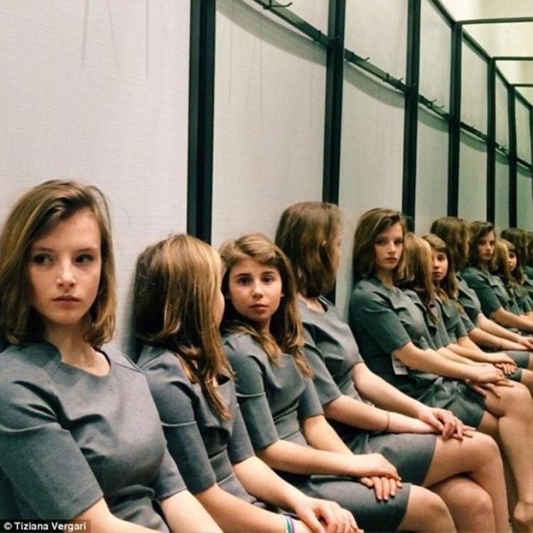 Bài tập luyện não: Thực sự có bao nhiêu cô gái trong bức ảnh này?
