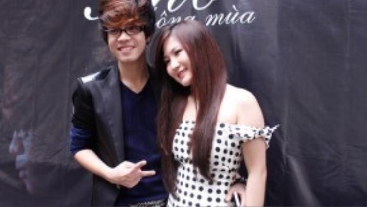 Hai giọng ca của Giọng hát Việt 2012 Hương Tràm - Bùi Anh Tuân từng có thời gian yêu nhau bất ngờ tái hợp trong tiết mục song ca.