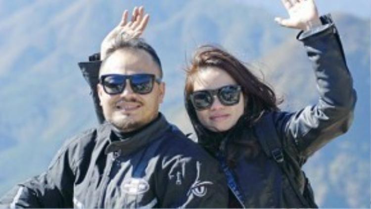 Trần Lập và vợ.