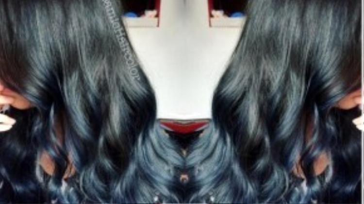 Thật sự trông như mái tóc của những nàng tiên cá trên film hoạt hình đúng không nào?